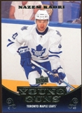 2010/11 Upper Deck #247 Nazem Kadri YG RC Young Guns Rookie Card