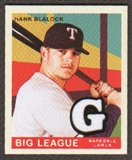 2007 Upper Deck Goudey Memorabilia #45 Hank Blalock