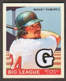 2007 Upper Deck Goudey Memorabilia #74 Manny Ramirez