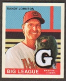 2007 Upper Deck Goudey Memorabilia #86 Randy Johnson