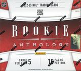 2012/13 Panini Rookie Anthology Hockey Hobby 12-Box Case- DACW Live 30 Spot Random Team Break #1