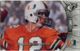 2012 Upper Deck SPx Shadow Slots Pose 3 #JK3 Jim Kelly