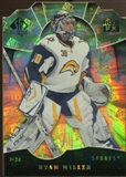 2008/09 Upper Deck SP Authentic Holoview FX Die Cuts #FX47 Ryan Miller