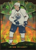 2008/09 Upper Deck SP Authentic Holoview FX Die Cuts #FX60 Shawn Horcoff