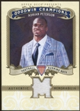 2012 Upper Deck Goodwin Champions Memorabilia #MAP Adrian Peterson E