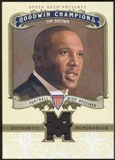 2012 Upper Deck Goodwin Champions Memorabilia #MBR Tim Brown C