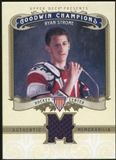 2012 Upper Deck Goodwin Champions Memorabilia #MRS Ryan Strome F