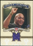 2012 Upper Deck Goodwin Champions Memorabilia #MTT Thurman Thomas F