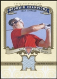 2012 Upper Deck Goodwin Champions Memorabilia #MZJ Zach Johnson E