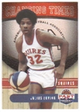 2011/12 Panini Past and Present Changing Times #10 Julius Erving