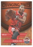 2011/12 Panini Past and Present Changing Times #27 Derrick Rose