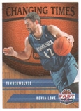 2011/12 Panini Past and Present Changing Times #28 Kevin Love