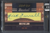 2011 Donruss Limited Cuts #271 Rick Ferrell Auto #21/49