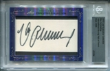 2013 Leaf Executive Collection Max Schmeling Cut Autograph (d.2005)
