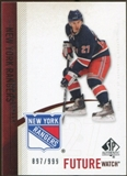 2010/11 Upper Deck SP Authentic #247 Ryan McDonagh RC /999