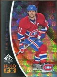 2010/11 Upper Deck SP Authentic Holoview FX #FX27 Brian Gionta