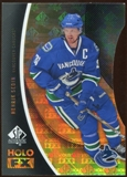 2010/11 Upper Deck SP Authentic Holoview FX Die Cuts #FX22 Henrik Sedin