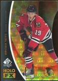 2010/11 Upper Deck SP Authentic Holoview FX Die Cuts #FX36 Jonathan Toews