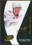 2010/11 Upper Deck SPx Finite Rookies #F22 Jeff Skinner /249