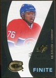 2010/11 Upper Deck SPx Finite Rookies #F27 P.K. Subban /99