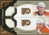 2010/11 Upper Deck SPx Winning Combos #WCGV James van Riemsdyk/Claude Giroux