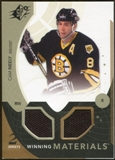 2010/11 Upper Deck SPx Winning Materials #WMCN Cam Neely