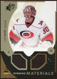 2010/11 Upper Deck SPx Winning Materials #WMCW Cam Ward