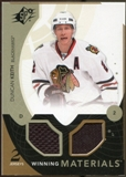 2010/11 Upper Deck SPx Winning Materials #WMDK Duncan Keith