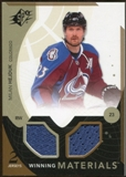 2010/11 Upper Deck SPx Winning Materials #WMHE Milan Hejduk
