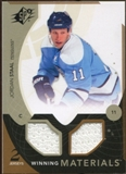 2010/11 Upper Deck SPx Winning Materials #WMJS Jordan Staal