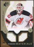 2010/11 Upper Deck SPx Winning Materials #WMMB Martin Brodeur