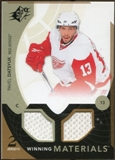 2010/11 Upper Deck SPx Winning Materials #WMPD Pavel Datsyuk
