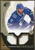 2010/11 Upper Deck SPx Winning Materials #WMRK Ryan Kesler