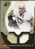 2010/11 Upper Deck SPx Winning Materials #WMSC Sidney Crosby