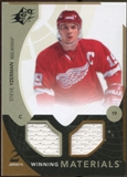 2010/11 Upper Deck SPx Winning Materials #WMSY Steve Yzerman