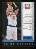 2012/13 Panini Elite Prime Numbers Gold #17 Jason Kidd 16/24