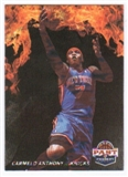 2011/12 Panini Past and Present Fireworks #9 Carmelo Anthony