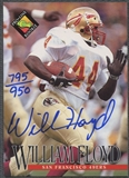 1994 Pro Line Live #46 William Floyd Auto #795/950