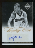 2011/12 Panini Limited Trophy Case Signatures #17 Monta Ellis Autograph 40/49