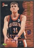 1995 Classic Five Sport #14 Brent Barry Auto #204/225