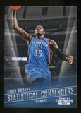 2012/13 Panini Contenders Statistical Contenders #3 Kevin Durant