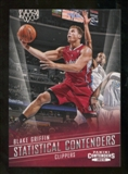 2012/13 Panini Contenders Statistical Contenders #15 Blake Griffin