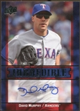2009 Upper Deck Inkredible #DM David Murphy Autograph