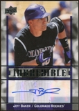 2009 Upper Deck Inkredible #JB Jeff Baker Autograph