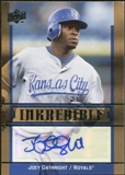 2009 Upper Deck Inkredible #JO Joey Gathright Autograph
