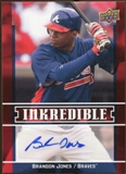 2009 Upper Deck Inkredible #BR Brandon Jones S2 Autograph