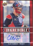 2009 Upper Deck Inkredible #CS Clint Sammons S2 Autograph
