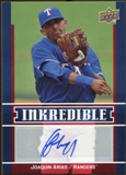 2009 Upper Deck Inkredible #JA Joaquin Arias S2 Autograph