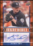 2009 Upper Deck Inkredible #JS Joe Smith S2 Autograph
