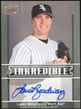 2009 Upper Deck Inkredible #LB Lance Broadway S2 Autograph